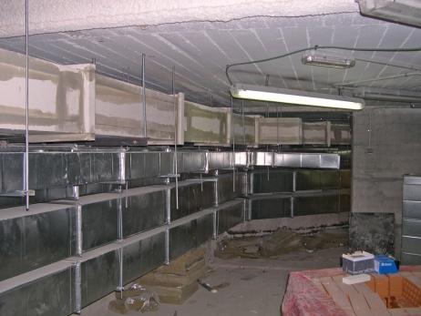 Protección pasiva en conductos de ventilación y extracción de humos