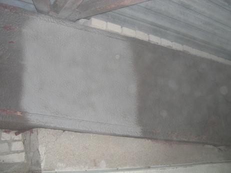 Aplicación de las pinturas especiales contra la corrosión