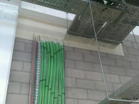 Sellado de Instalaciones con ladrillos intumescentes