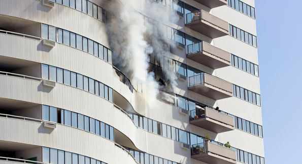 Soluciones para retardar la propagación del fuego