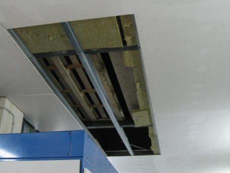 Falsos techos independientes