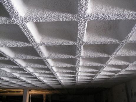 Estructura falsos techos independientes