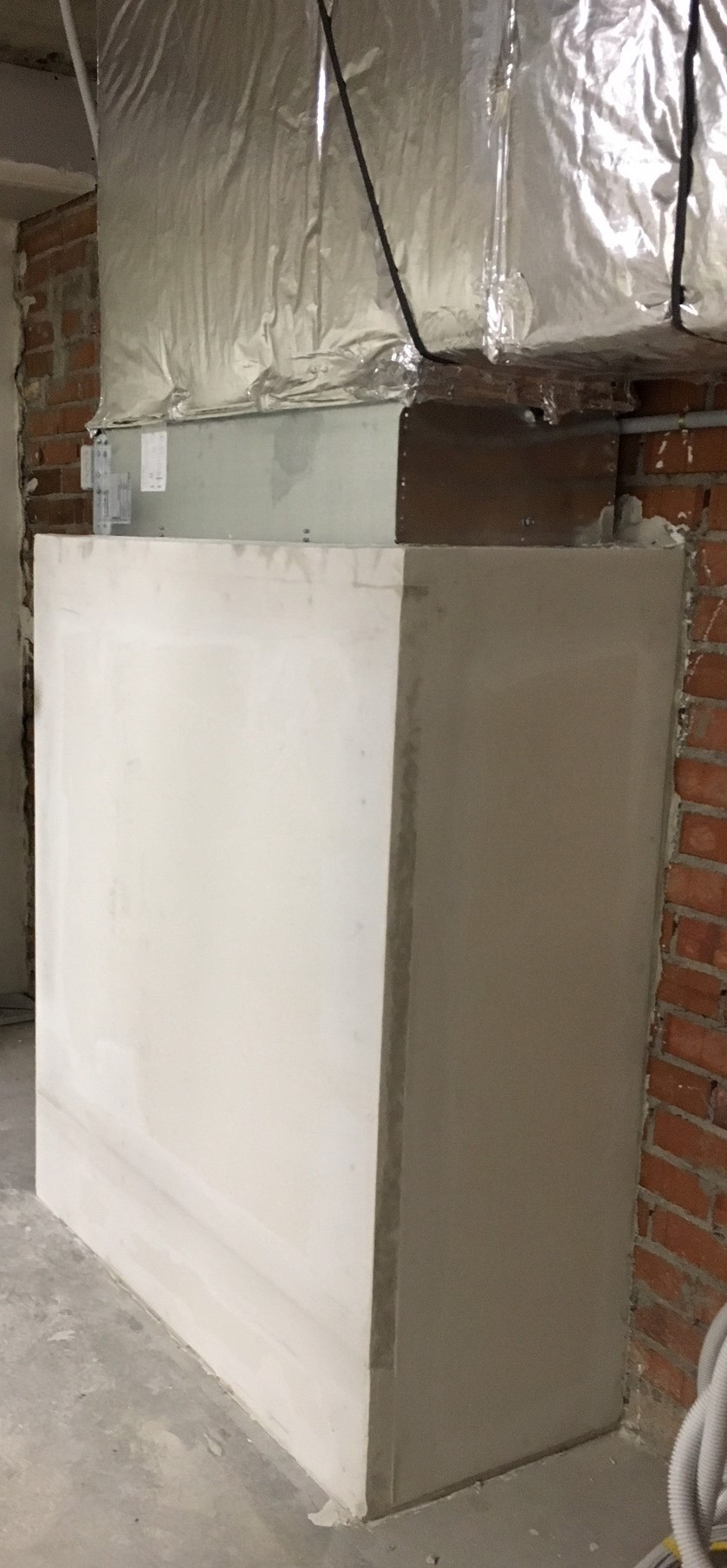 Estrucutra de los Conductos de ventilación y extracción de humos