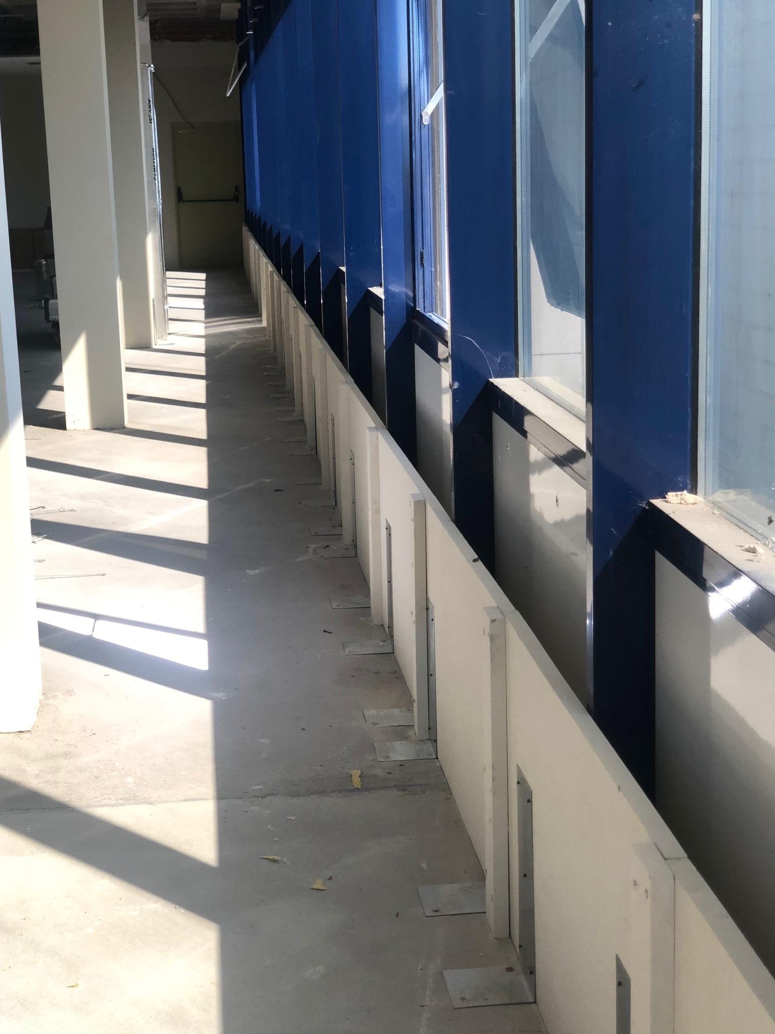Aplicación Franjas de encuentro Forjado/fachada