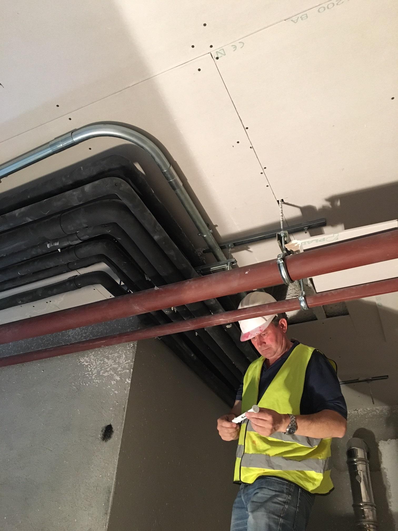 Protección pasiva con Falsos techos independientes
