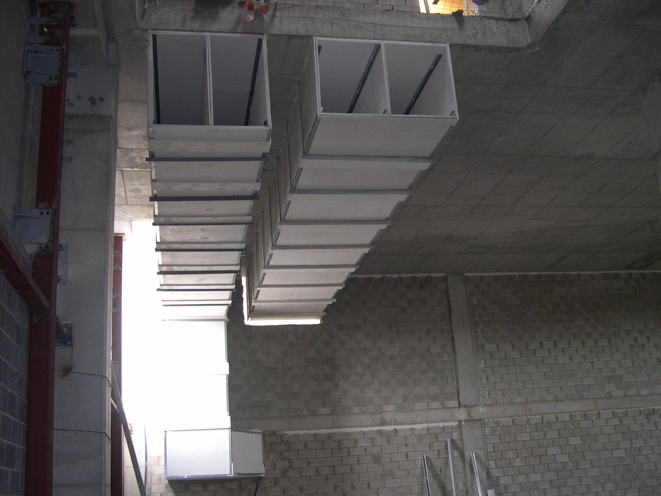 Uso de Conductos de ventilación y extracción de humos